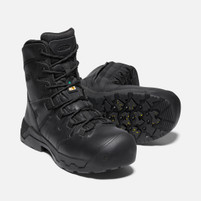 "Men's KEEN CSA Oshawa + 8"" Side Zipper Waterproof Carbon Toe"