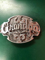 Grandpa Plain Buckle