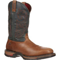 "Men's Rocky 12"" Long Range Square Toe Western Boot"