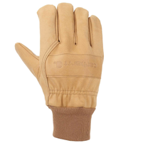 Men's Carhartt Insulated Gunn Cut Knit Cuff Work Glove