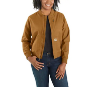 Women's Carhartt Crawford Bomber Jacket