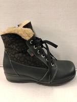 Women's Martino New Snow Park Black  Winter Boot
