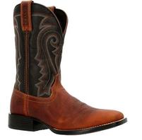 Men's Durango Westward Black and Brown Western Boot
