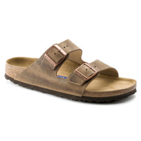 Birkenstock Arizona Tobacco Oiled Leather Soft Footbed FREE SHIPPING