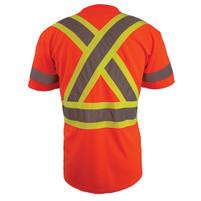 Coolworks Workwear Hi-Vis Reflective Work T-Shirts