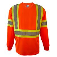 Coolworks Workwear Hi-Vis Reflective Longsleeve Work Shirts