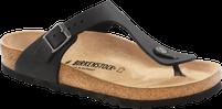 Birkenstock Gizeh Oiled Leather Black Sandal