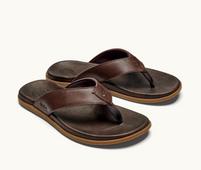 Men's OluKai Nalukai Sandal Dark Wood