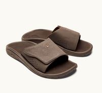 Men's OluKai Nalu Slide Dark Java  Sandals