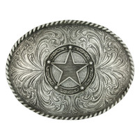 Montana Silversmiths Star Concho Classic Antiqued Attitude Belt Buckle