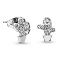 Montana Silversmiths Tiny But Tough Cactus Earrings