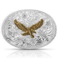 Montana Silversmiths Classic Eagle Belt Buckle