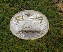 "Montana Silvermiths Terry Labonte ""5"" NASCAR Buckle"