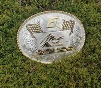 "Montana Silvermiths Mark Martin ""6"" NASCAR Buckle"