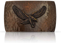 Montana Silversmiths Bronze Cascade Eagle Buckle