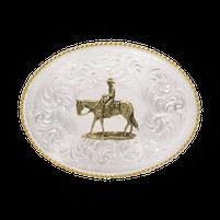 Montana Silversmiths Pleasure Horseback Riding Buckle