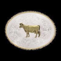 Montana Silversmiths Champion Dairy Cow Buckle