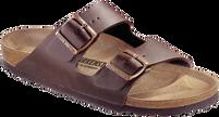 Birkenstock Arizona Dark Brown Birko-Flor Soft Footbed Free Shipping