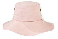 Tilley Hemp Broad Band Dusty Pink Hat