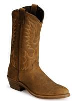 Abilene Men's Round Toe Tan Rubber Sole Western Boot