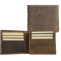 Adrian Klis Bison Leather Bifold Wallet