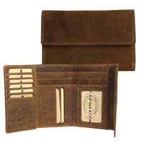 "Adrian Klis 6"" Wallet Bullhide Leather"