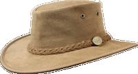 Barmah Foldaway Cattle Suede Hat