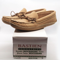 Men's Bastien Moccasins Brown Leather Sole
