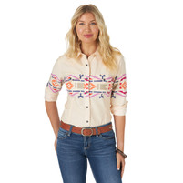 Women's Wrangler Retro® Punchy Shirt  Cream