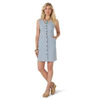 Women's Wrangler Retro® Western Vintage Dress Blue/White