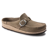 Birkenstock Buckley Gray Taupe Suede Clog *FREE SHIPPING*