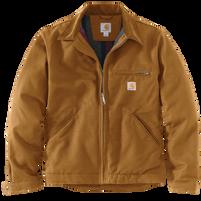 Carhartt Men's Duck-Blanket Lined Detroit Jacket Carhartt Brown