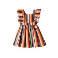 Toddler's Wrangler Striped Dress