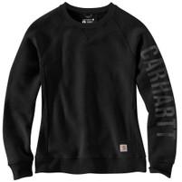 Women's Carhartt Black Crewneck Sweatshirt