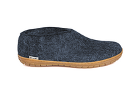 Glerups Denim Wool Rubber Sole Shoe