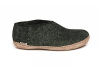 Glerups Forest Wool Leather Sole Shoe
