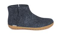 Glerups Denim Wool Rubber Sole Boot