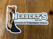 Herbert's Logo Sticker