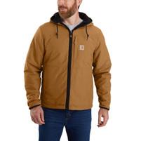 Men's Carhartt Rain Defender Relaxed Fleece Reversible Jacket