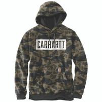 Men's Carhartt Midweight Hooded Camo Graphic Sweatshirt