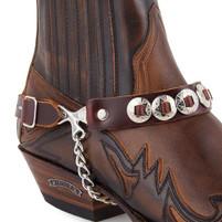 Sendra Harness 43 Brown Boot Strap