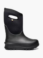 Kid's Bogs Neo-Classic Solid Black Winter Boot