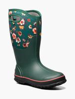 Women's Bogs Call Tall Wide Calf Painterly Emerald Farm Boots
