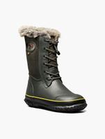 Kids Bogs Arcata Tonal Camo Dark Green Winter Boot