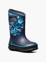 Kids Bogs Classic Winter Mountain Insulated Rain Boots