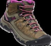 Ladies Keen Targhee III Mid WP Hikers Weiss/ Boysenberry