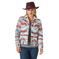Women's Wrangler Sherpa Lined Jacquard Jacket