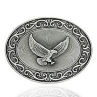 Montana Silversmiths Ready for Action American Eagle Attitude Buckle