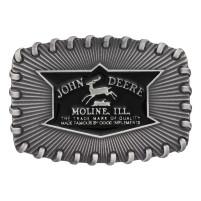 Montana Silversmiths John Deere Stitch Edge Attitude Buckle