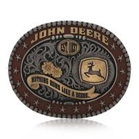 Montana Silversmiths John Deere Trophy Attitude Buckle